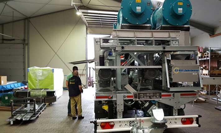 Neu bei Blunk: mobile Separationsanlage mit zwei Separatoren_1