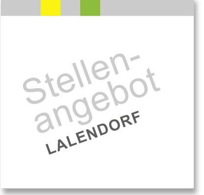 aktuelles Stellenangebot am Blunk-Standort Lalendorf