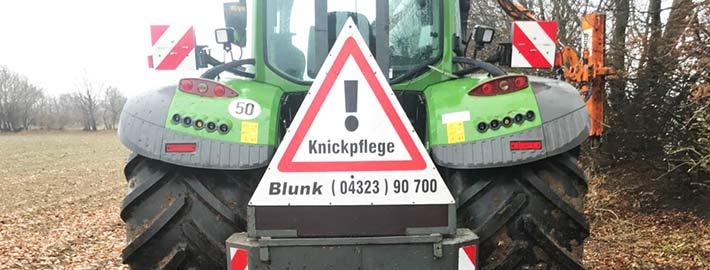 Blunk Knickpflege 2018