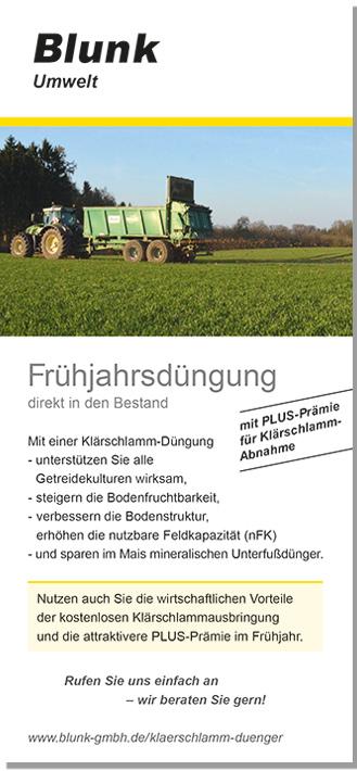 Blunk Folder Frühjahrsdüngung
