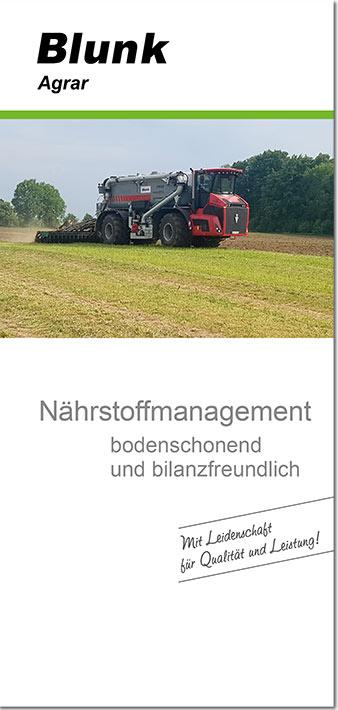 Blunk Gülle Broschüre