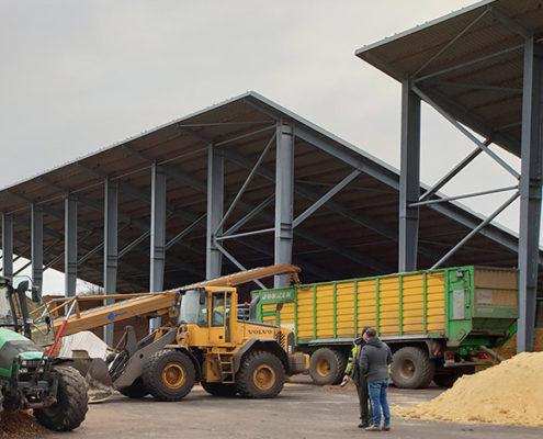 Blunk stellt Kraftfutter aus Mais und Rüben her