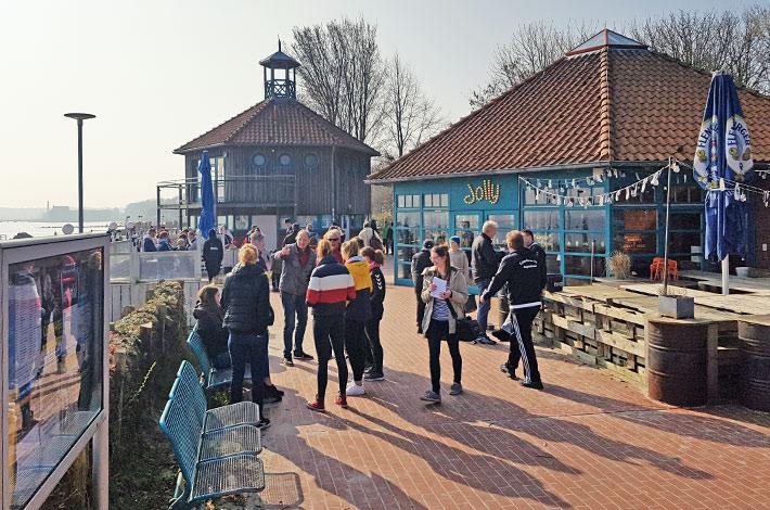 Blunk Helfer Strandreinigung Eckernförde