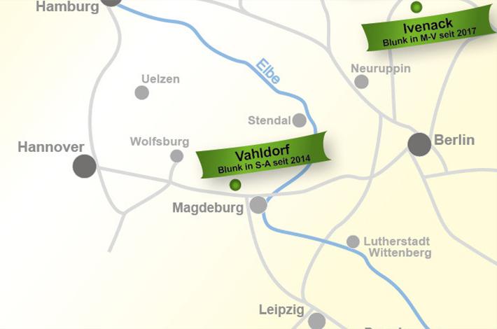Blunk Standort Vahldorf in Sachsen-Anhalt