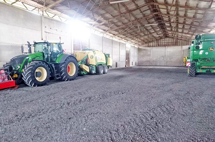 Blunk Asphalt Recyclinggut Halle