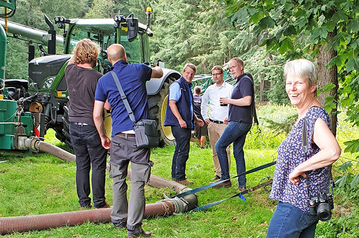 Blunk Film Dreharbeiten Rendswühren 02
