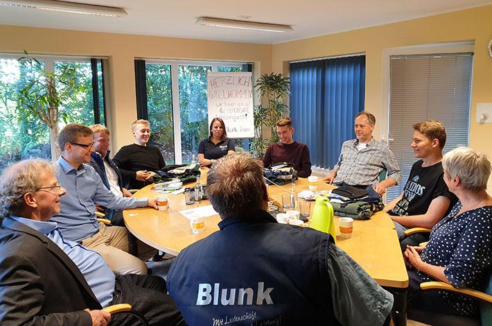 Blunk: Neue Auszubildende FAS 08
