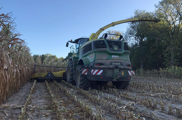 Schnappschuss: Das Blunk-Team aus Mecklenburg-Vorpommern blickt auf die Maisernte 2019 zurück