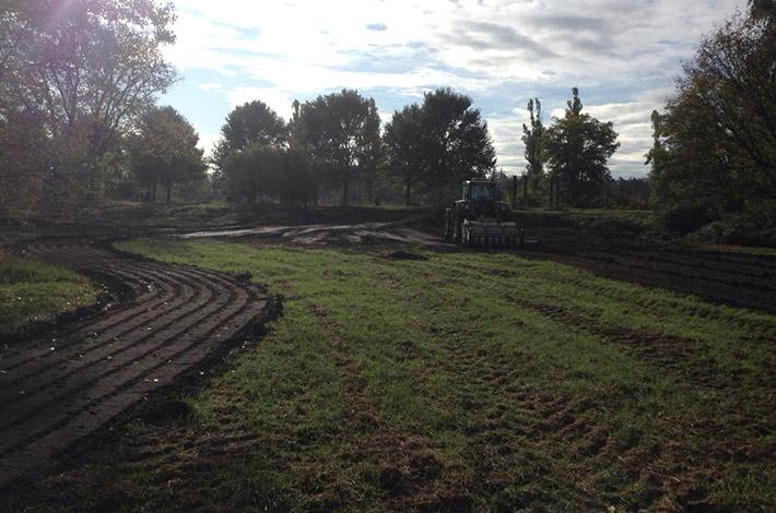 Blunk integriert Natur-Golfanlage in Brachfläche