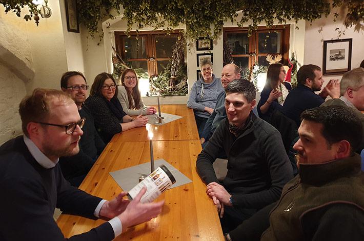Blunk Gruppe auf Betriebsausflug nach Wismar - Abendessen 5
