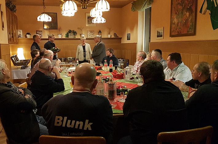 Blunk-Team Niedersachsen Weihnachtsfeier 2