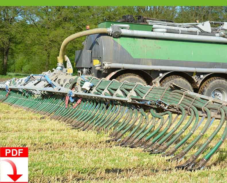 Download Blunk Dienstleistung Agrar: Düngen mit Schleppschuh