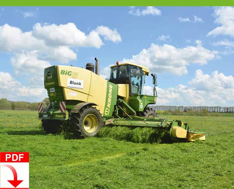 Download Blunk Dienstleistung Agrar: Grasernte