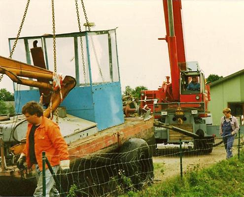 Blunk Teich Reinigung: Archivbbild von Jubilar Jörg 01
