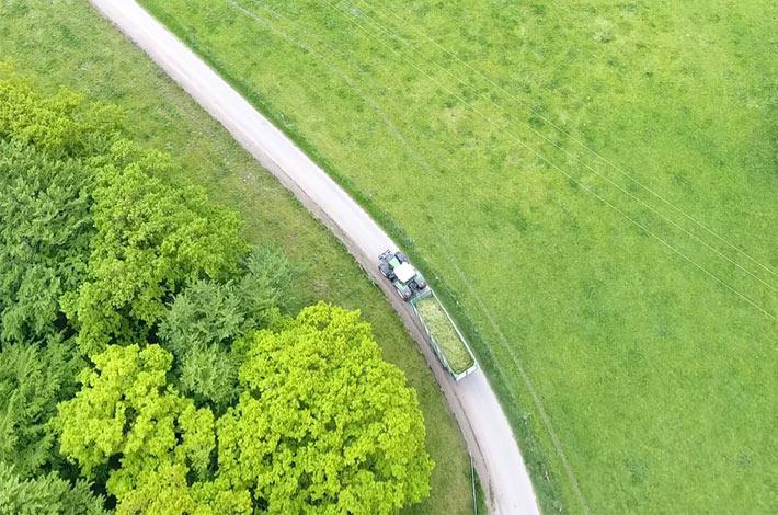 Blunk Grasernte Schleswig-Holstein Schwentine 15