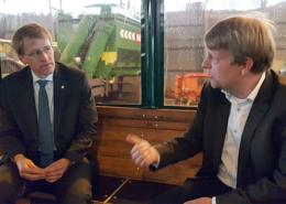 Ministerpräsident Günther besucht Umwelt- und Agrardienstleister Blunk 14