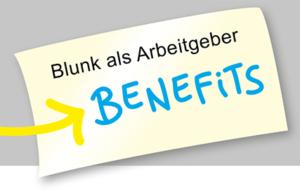 Blunk als Arbeitgeber: Benefits für Mitarbeiter