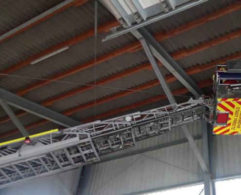 Blunk im Einsatz: Rettung Jungfalke in Biogasanlage Honigsee 06