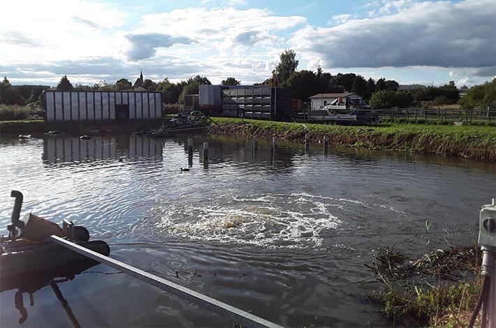 Blunk Umwelt Teich Entschlammung 04