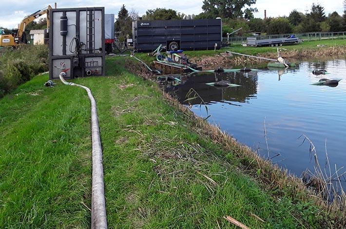 Blunk Umwelt Teich Entschlammung 06