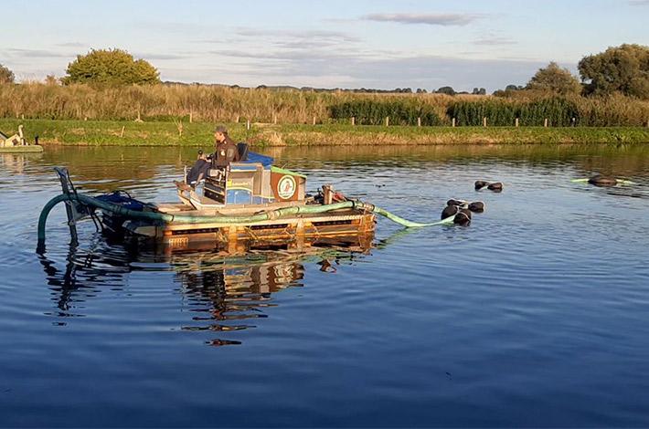 Blunk Umwelt Teich Entschlammung 11b