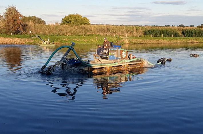 Blunk Umwelt Teich Entschlammung 12