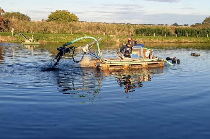 Blunk Umwelt Teich Entschlammung 13