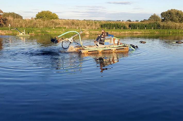 bBlunk Umwelt Teich Entschlammung 14