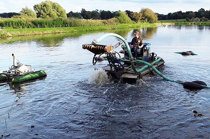 Blunk Umwelt Teich Entschlammung 07