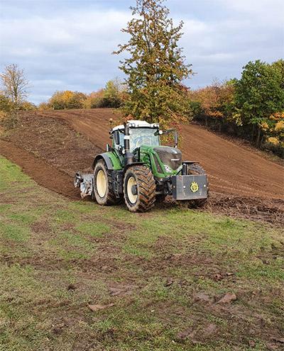 Blunk: Rodung und Räumung von Hangflächen für Weidebewirtschaftung 60