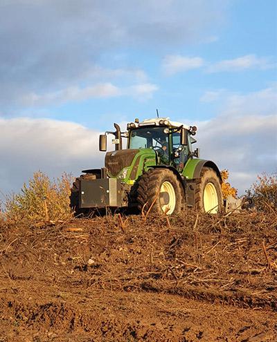 Blunk: Rodung und Räumung von Hangflächen für Weidebewirtschaftung 67