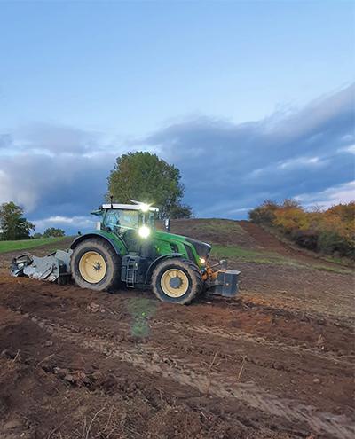 Blunk: Rodung und Räumung von Hangflächen für Weidebewirtschaftung 74