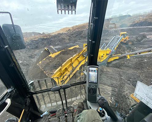 Blunk Umwelt-Lösungen: Baggerarbeiten und Siebarbeiten 06