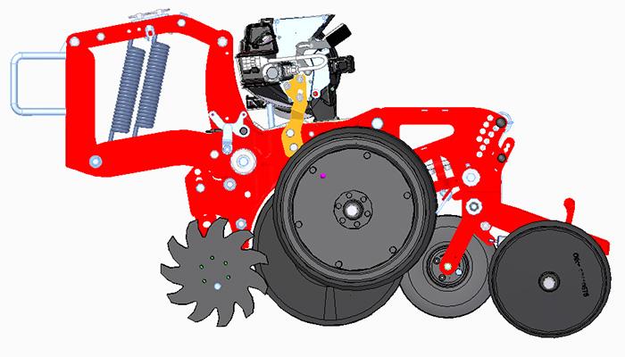 Maisanbau mit Blunk: Unterfuß Flüssigdüngung mit neuem Prototyp Horsch Maestro SX 50 FD Aggregat- Bild18