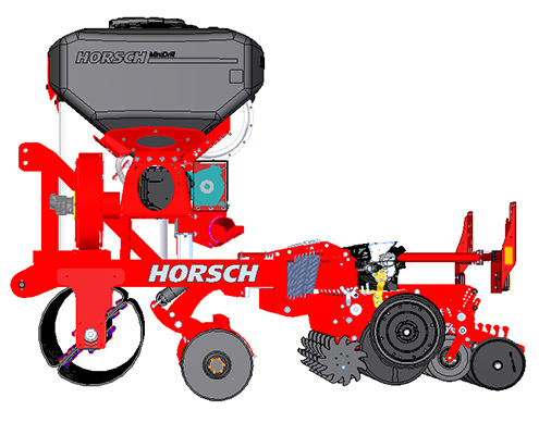 Maisanbau mit Blunk: Unterfuß Flüssigdüngung mit neuem Prototyp Horsch Maestro SX 50 FD Aggregat- Bild20