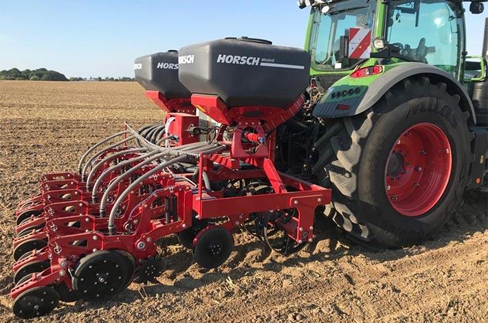 Maisanbau mit Blunk: Unterfuß Flüssigdüngung mit neuem Prototyp Horsch Maestro SX 50 FD - Bild25