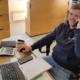 Blunk Disponent Simon Uppendahl Agrarservice Meister bei der Arbeit