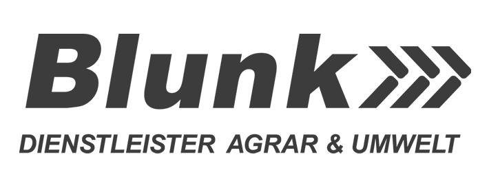 Logo der Blunk-Gruppe - grau