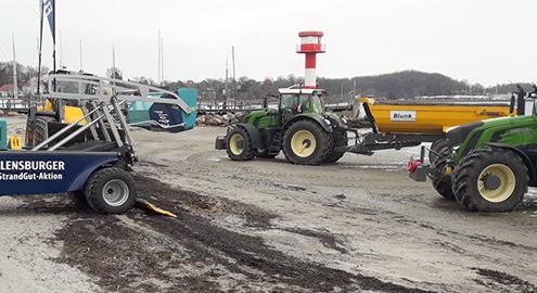 Strandreinigung: Blunk beteiligt sich wieder an Strandgut-Aktion in Flensburg 05
