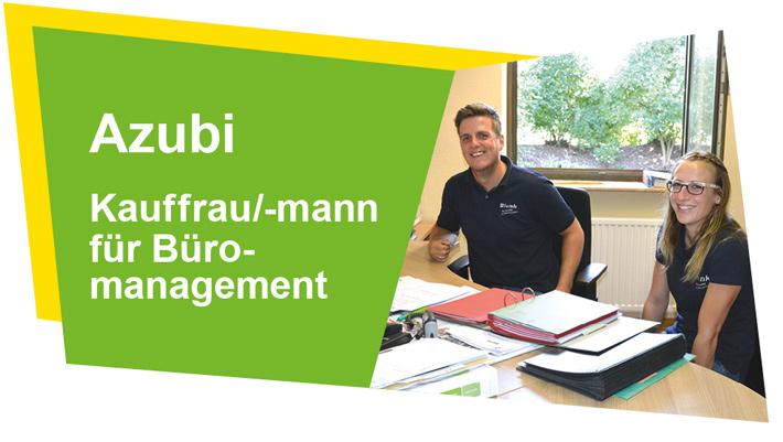 Angebote der Blunk-Gruppe für Ausbildung Kauffrau / Kaufmann Büromanagement