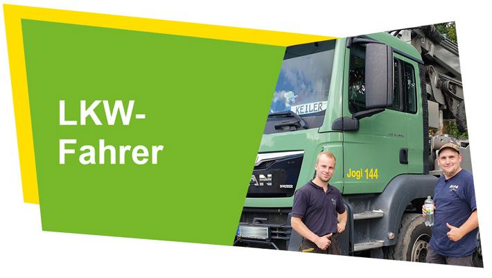Angebote der Blunk-Gruppe für Lkw - Fahrer