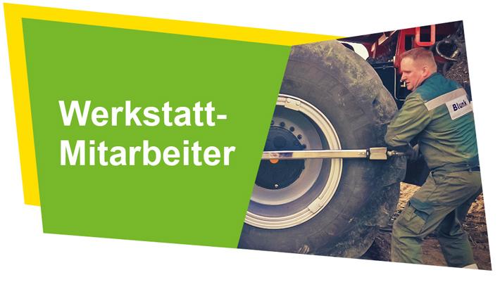Job Angebote der Blunk-Gruppe für Werkstatt Schlosser