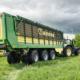 Blunk: Ladewagen Krone ZX mit integrierter Wiegeeinrichtung 03