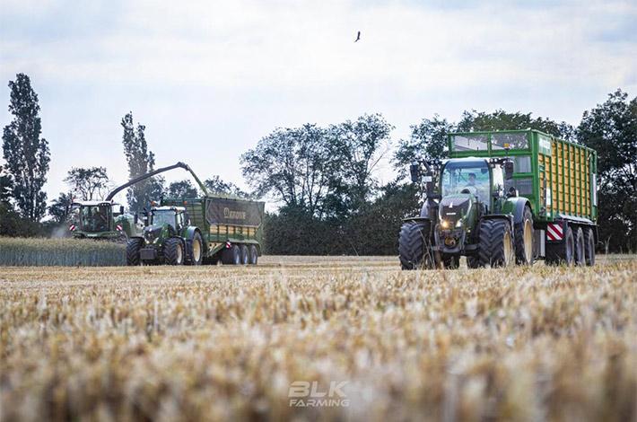 Blunk Lalendorf: Agrar-Team bei der GPS Ernte blk03