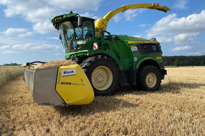 Blunk Lalendorf: Agrar-Team beim GPS haeckseln ML04