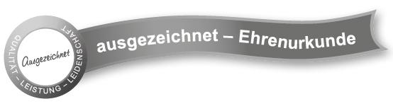 LU Blunk: Zertifikate Ehrenurkunde DLG