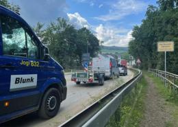 Blunk-Azubis packen an in Flutkatastrophengebiet an der Ahr 05