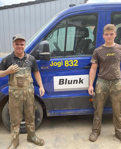Blunk-Azubis packen an in Flutkatastrophengebiet an der Ahr 07