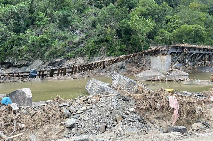 Blunk-Azubis packen an in Flutkatastrophengebiet an der Ahr 10