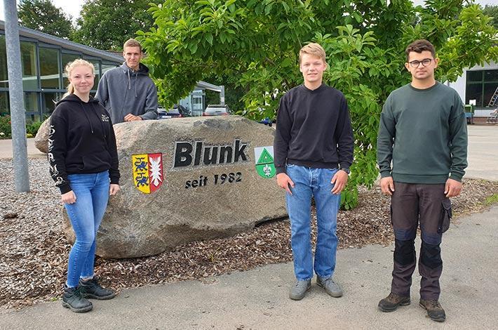 Ausbildungsbetrieb Blunk begrüßt neue Azubis FAS 2021 01
